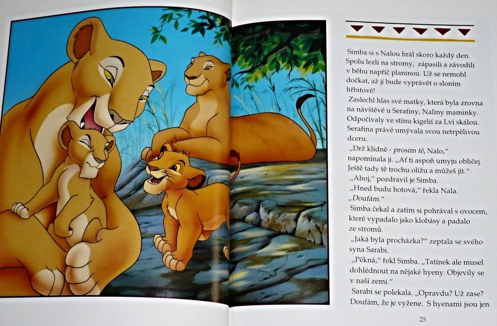 Výsledek obrázku pro knihy lvího krále