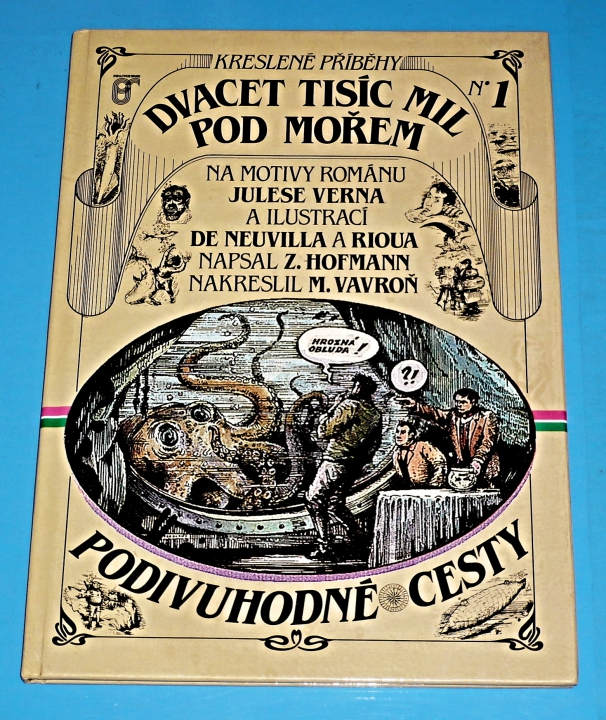 Kreslene Pribehy Dvacet Tisic Mil Pod Morem Hofmann Z Kreslene