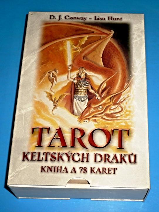 Tarot Keltskych Draku Kniha Karty Conwayova D J Tarot