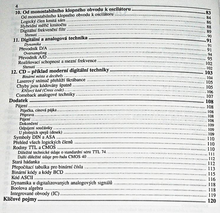 Elektronika tajemství zbavená 3 - Pokusy s číslicovou technikou ... d3f394de8da